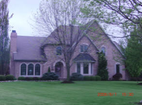 sandstone accent brick home