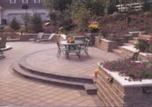 brick paver landscaping